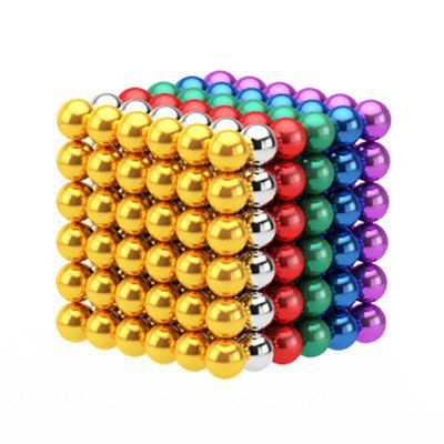 216 Unids 3mm DIY Bolas Magnéticas Esferas Beads Magic Cube Imanes Puzzle Toy