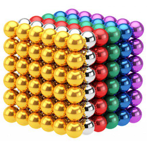 216Pcs 3mm DIY Magnetic Balls  Spheres Beads Magic Cube Magnets Puzzle Toy