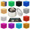 216Pcs 3mm DIY Magnetic Balls  Spheres Beads Magic Cube Magnets Puzzle Toy - WHITE