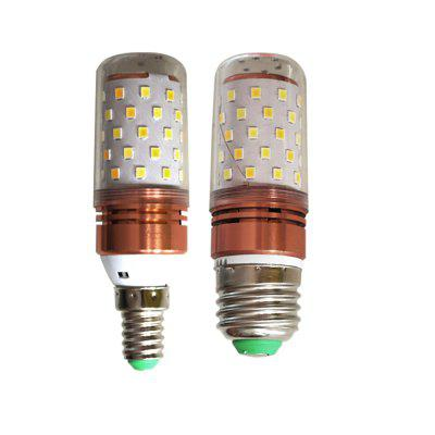 E27 E14 Corn Type 12W Three Color Switch LED Bulb