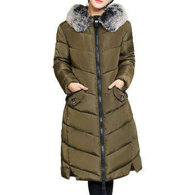 Thick Female Outerwear Cotton-Padded Jackets Women Winter Coat
