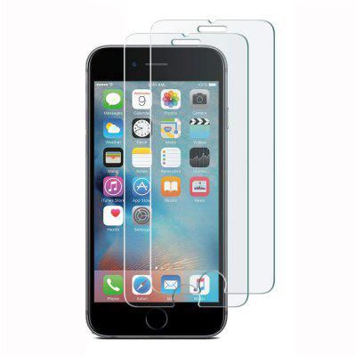 2 PCS HD Screen Protector for iPhone 6 / 6S Plus 9H HD Tempered Glass Film