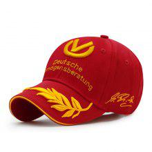 c9059716 73% OFF Choice letter + wheat ear embroidery baseball cap + sunscreen shade  + outdoor sp