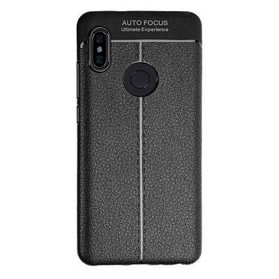 Soft Touch TPU Case with Lichee Pattern for Xiaomi Redmi Note 6 Pro