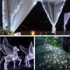 ZDM 2PCS  Waterproof 10M 100LED Silver Thread String 8 Modes Fairy String Lights - COOL WHITE