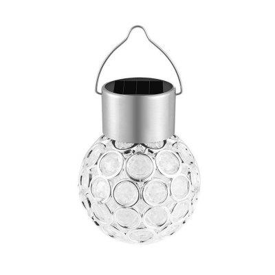LED Solar Crystal Hanging Color Changing Lamp