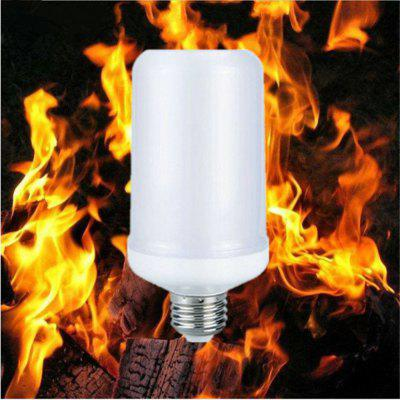 OMTO  E27 Led Flame Lamp AC85-265V 7W Flickering Emulation Fire Lights