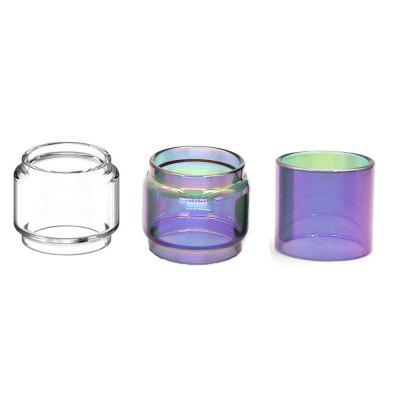 Iwodevape 3 Times for Tfv12 Prince 8ML 1 Transparent Fat Glass 2 Rainbow Glass