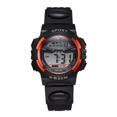XR3036 Men'S Sports Style Electronic Watch Multi-Function Fashion Watch