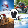 Touchscreen Winter Gloves Cycling Driving Slip Hiking Skiing Outdoor Sports - JET BLACK