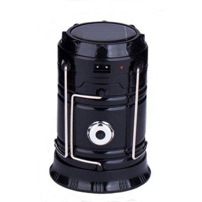 Led Rechargeable and solar power charged Collapsible Camping Lantern Tent Lights