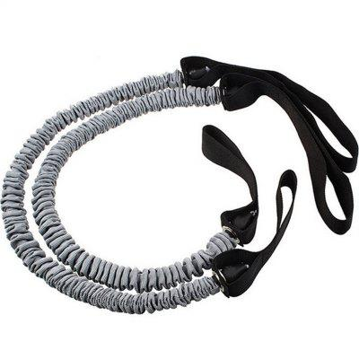 2PCS Outdoor Fitness Exercise Auxiliary Tension Rope