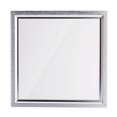 Simple Square LED Lighting Module Integrated Ceiling Panel Lamp-800LM