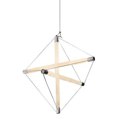 Geometric Chandelier Minimalist Design Creative Art Chandelier
