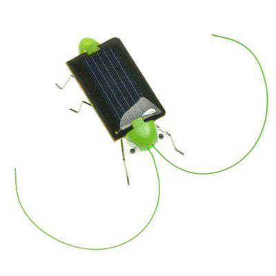 Solar Power Insect Energy Grasshopper Cricket Kids Gift Toy