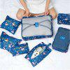 7 Pieces Multi-Function and Large Capacity Suitcase Travel Thicken Storage Bag - MULTI-Z