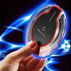 Mini Wireless Charger USB Charging Pad For iPhone - BLACK
