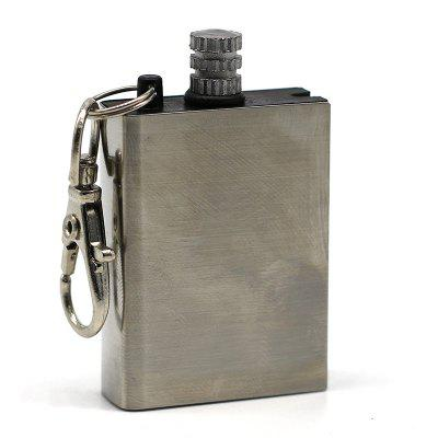 Flint Fire Starter Matches Portable Bottle Shaped Survival Tool