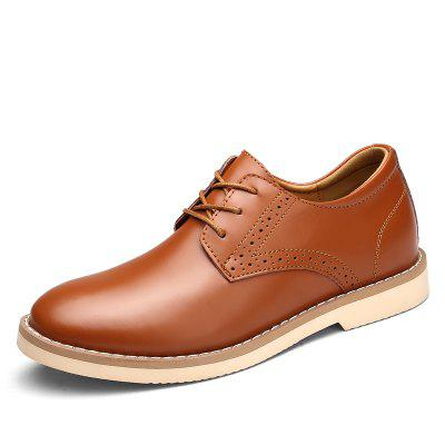 Cravate en cuir pour hommes Casual Wear Oxford Shoes
