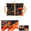 JAKEMY 45 in 1 Disassembling Screwdriver Set for PC / Phone / Laptop - ORANGE