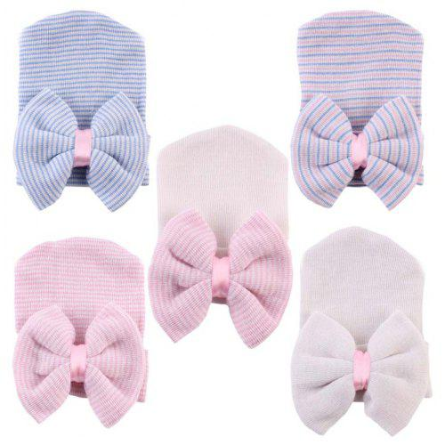 Pack of x20 Girls Kids Hair Band Elastic Rubber Rope Bows Decor Headwear