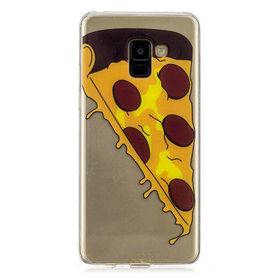 Pizza Cartoon Creative Silicone Phone Case for Samsung S 9