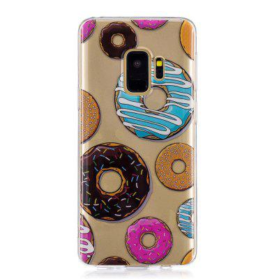 Donut Cartoon Creative Silicone Phone Case for Samsung S 9