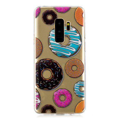 Donut Cartoon Creative Silicone Case for Samsung S 9 Plus