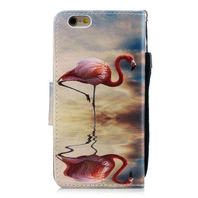 Flamingo Protection Holster Flip Phone Case for iPhone 6 6 S