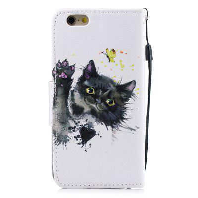 Kitten Protection Holster Flip Phone Case for iPhone 6 6 S