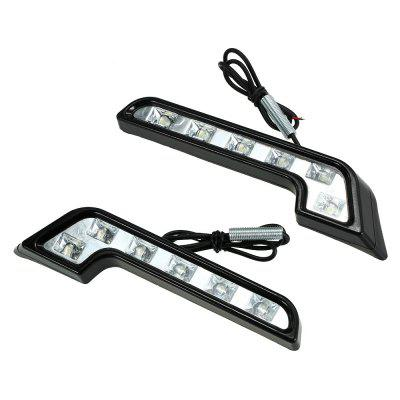Sencart 2PCS Car Modified L-Type High Power Daytime Running Lights / Fog Lights