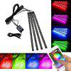 YWXLight 5050SMD Mobile Phone APP Control RGB Car Decoration Atmosphere Lamp - MULTI-A