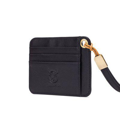 The First Layer of Leather Men's Leather Card Package Business Bank Card Busines