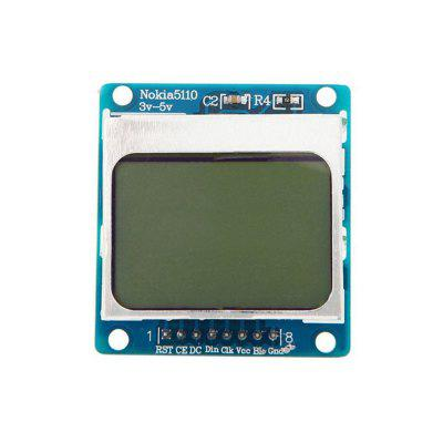 5110 LCD LCD Module MCU Development Board Compatible with 3310 LCD