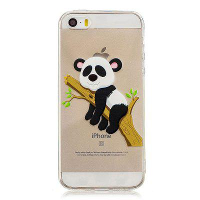 Coque TPU Soft Motif Panda pour iPhone 5 / 5S / SE