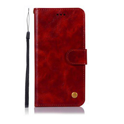 for Motorola Moto G6 Plus 2018 Case Fashion PU Flip Wallet Leather Phone Cover