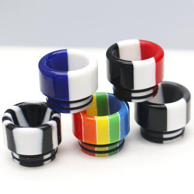 iwodvape 810 Rainbow Resin Drip Tip for TFV8 / TFV8 BIG BABY 810 Atomizer 5pcs