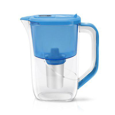 Water Pitcher Household Kettle Kitchen Water Filter Water Bottle with Carbon Fil
