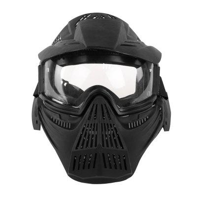 Outdoor Field Protective Mask Can Be Shaded PC Lens Riding Mask