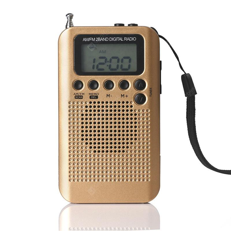 Portable External Loudspeaker Mini AM FM divu joslu radio