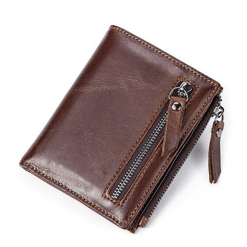 MVA 6046 Leather Wallet Men'S Casual Wallet