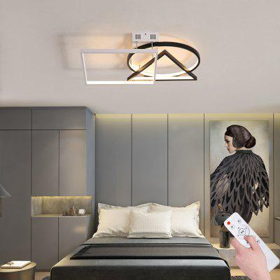 Compact Aluminum Unique Modeling LED Infinitely Dimmable Ceiling Lamp -49W