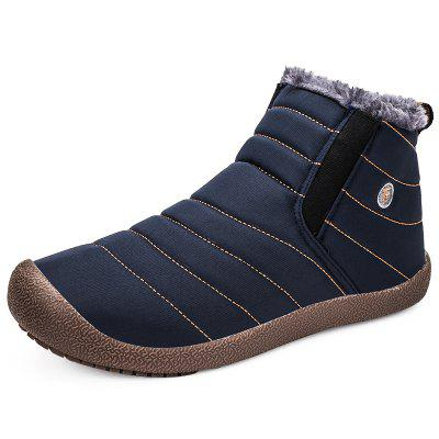 Shoes Men Winter Boots Man Warm Waterproof Rain Boots