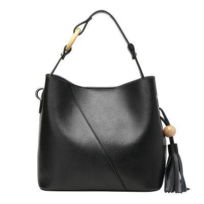 DUOCHUN Fashion Leather Bucket Bag women Crossbody Bag