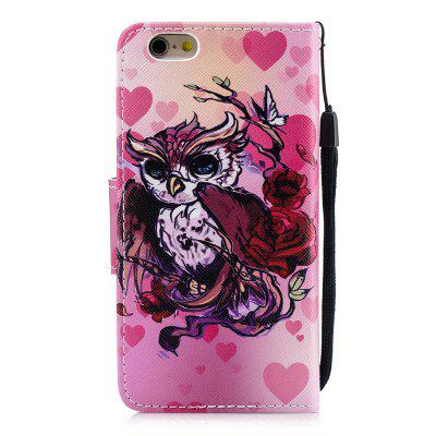 Owl Protection Holster Flip Phone Case for iPhone 6 6 S