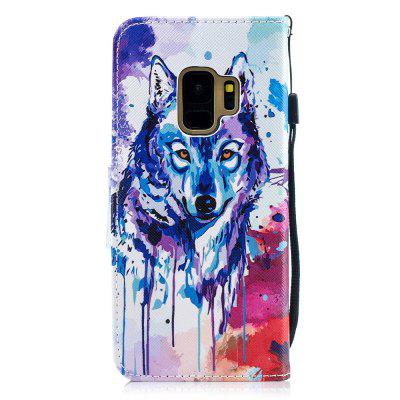 Wolf Protection Holster Flip Phone Case for Samsung S 9