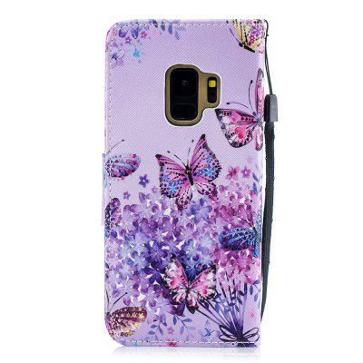 Butterfly Protection Holster Flip Phone Case for Samsung S 9