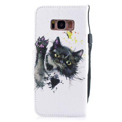 Kitten Protective Holster Flip Phone Case for Samsung S 8