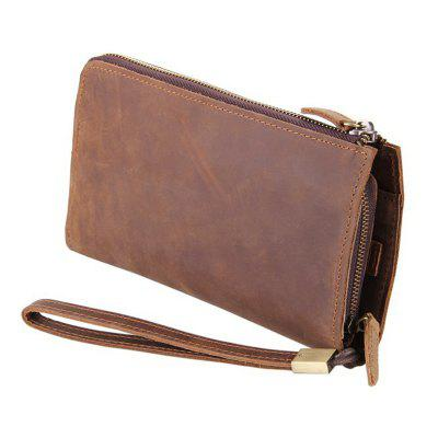 Multi-card Cool  Atmospheric Leather Clutch