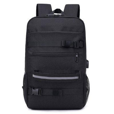 Sports Outdoor Backpack Skateboard Backpack Travel Backpack with USB  Charging St e32c8b2bb28cf